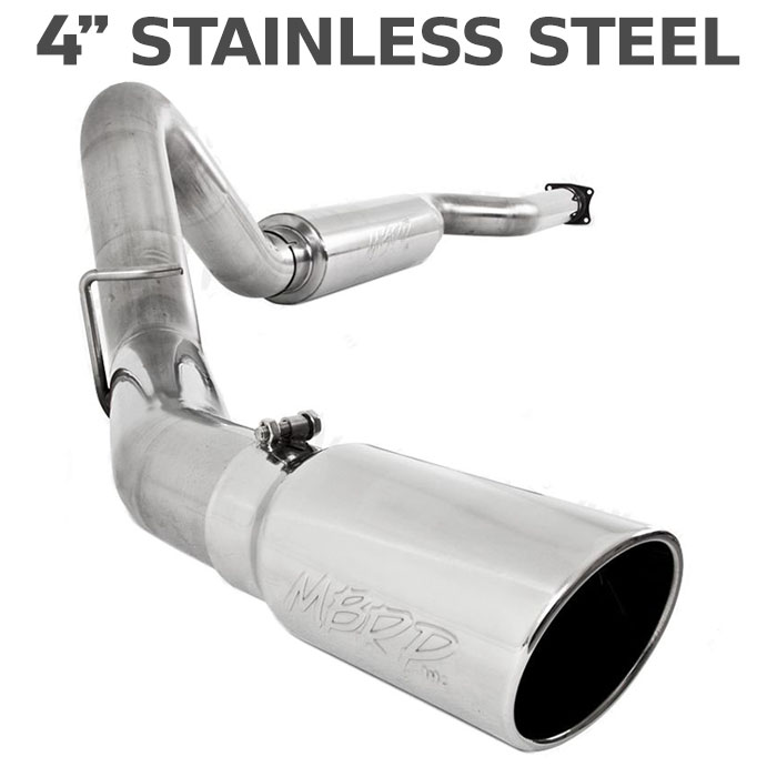 "2011-2014 F150 EcoBoost MBRP Pro Series 4"" Single Side Exit Cat-Back Exhaust Kit"
