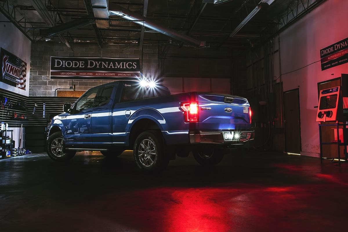 2016 F150 Tail Lights >> 2011-2018 F150 Diode Dynamics LED License Plate Lights ...