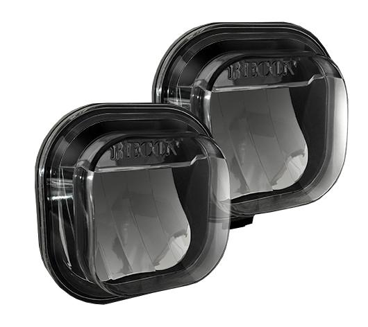 0 SuperDuty Black1 ford ranger smoke fog lights with wiring harness ford wiring Fog Light Wiring Harness Kit at bakdesigns.co