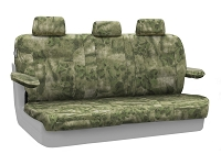 2004-2008 F150 CoverKing Ballistic A-TACS Foliage/Green Camo Rear Seat Covers