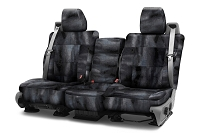 2015-2017 F150 CoverKing Ballistic Multi-Cam Front Seat Covers (Black)