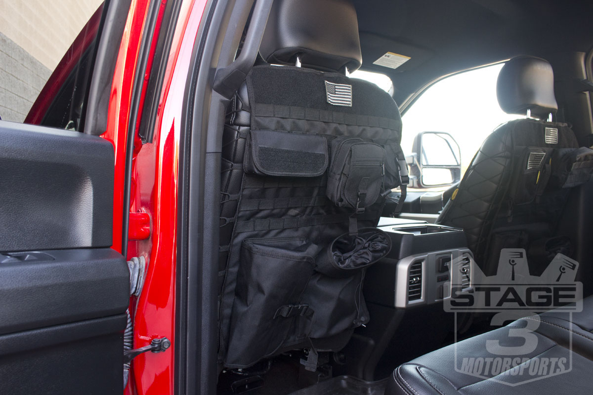 2015-2018 F150 Tactical Front Seat-Back Cover 04-15F150TSC-