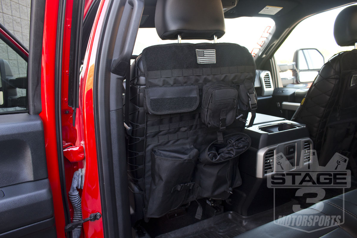 F Tactical Front Seat Cover