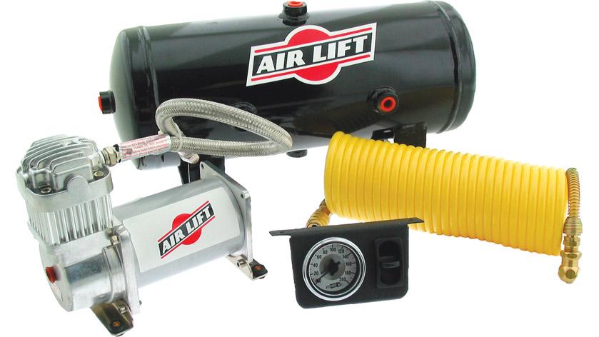 V Onboard Aircompressor on 1994 F150 Air Bag Kit