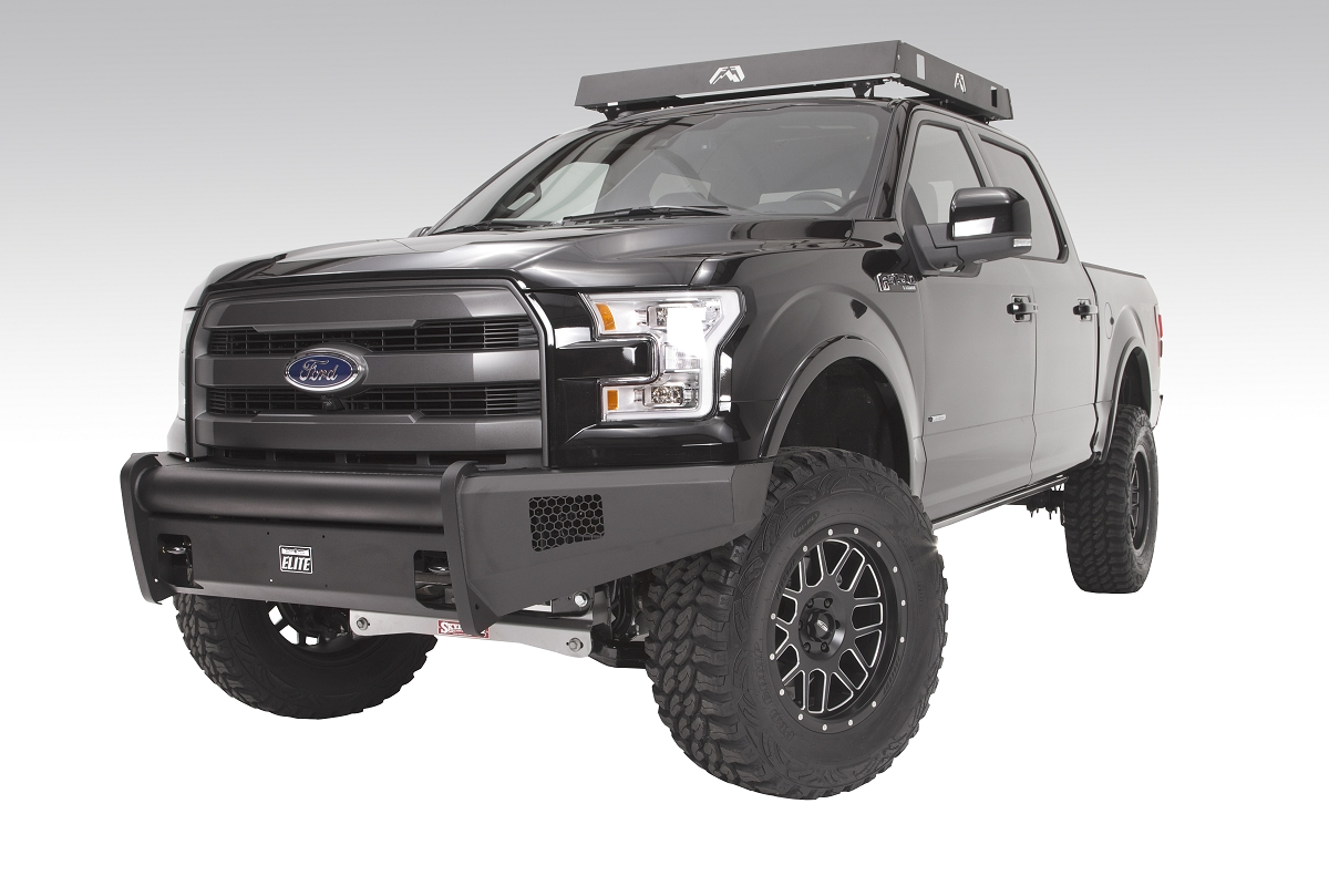 2015 Ford F150 Fab Fours Elite Front Bumper