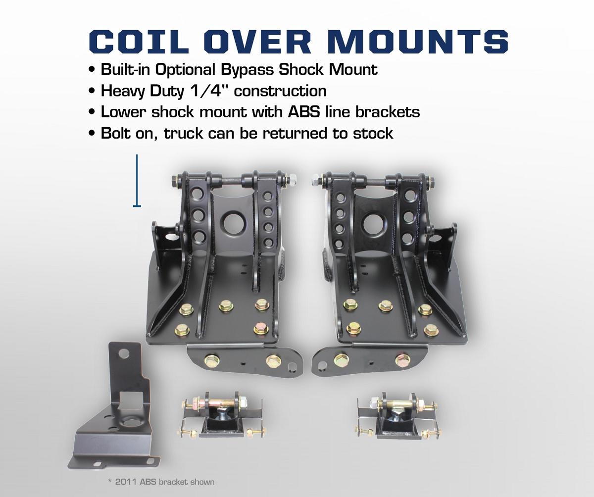 2011-2016 Super Duty 6.7L F250/F350 4WD Carli Suspension 2 ...
