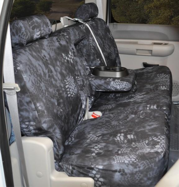 2011 2012 F150 Coverking Ballistic Typhon Camo Rear Seat