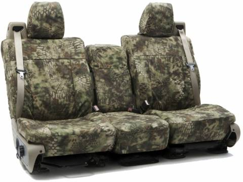 2013 2014 F150 Coverking Ballistic Kryptek Mandrake Camo Rear Seat Covers Ctsckt02