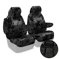 2013-2014 F150 CoverKing Ballistic Kryptek Typhon Camo Front Seat Covers