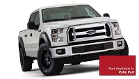 2015-2017 F150 Bushwacker Pocket Style Fender Flares (Pre-Painted Ruby Red)