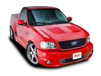 1997-2003 F150 Cervini's Louvered Hood (Fiberglass)