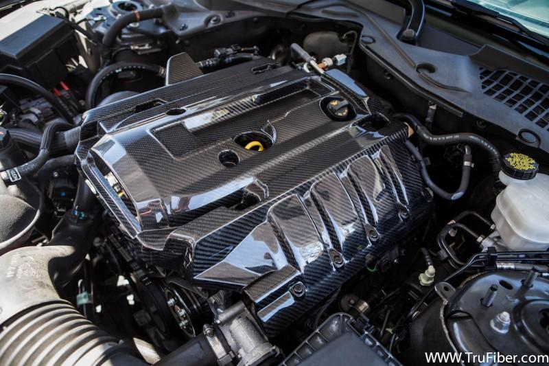 2015 2017 EcoBoost Mustang TruFiber Carbon Fiber Engine