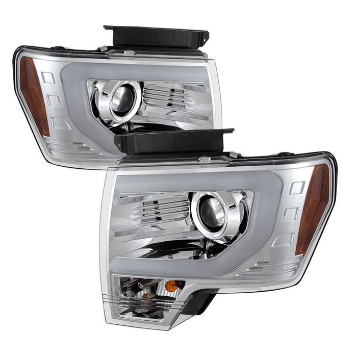 000000 alt yd 5077646 chrome xenon headlights 2013 2014 f150 2013 2014 f150 raptor spyder projector xenon replacement Wiring 12V LED Lights at bayanpartner.co
