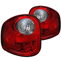 1997-2003 F150 Flareside Spyder LED Tail Lights (Red Smoked)