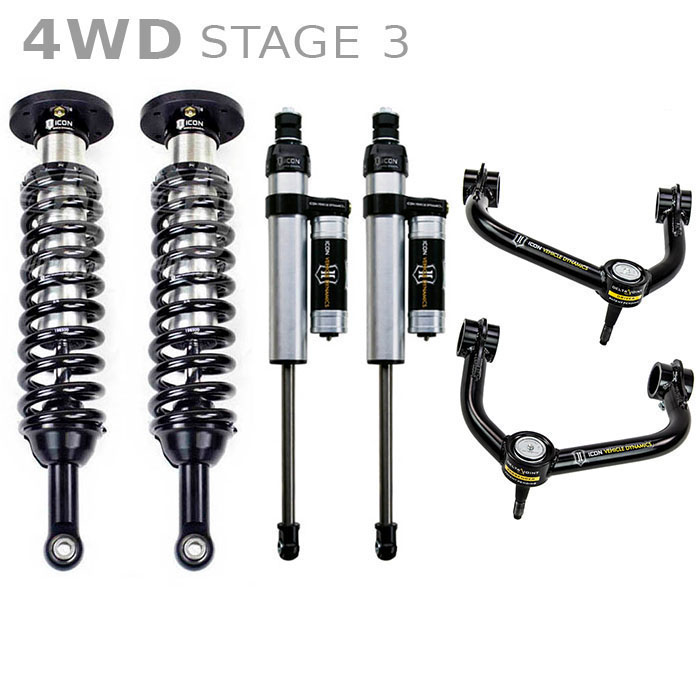 """Icon 4 5 Lift Kit Stage 1 For 2009 2012 Dodge Ram 2500: 2004-2008 F150 4WD ICON 0-3"""" Lift Kit"""