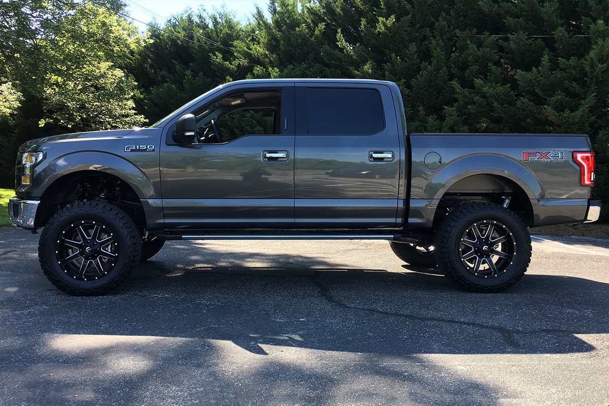 2004 2018 F150 Fuel Maverick 20x10 Quot D538 Wheel 6x135mm