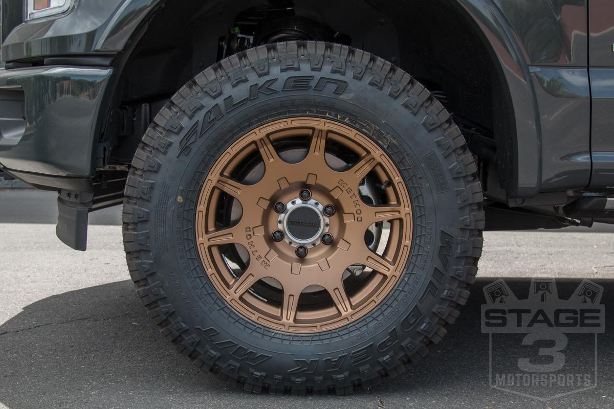 """Best Tires For Jeep Wrangler >> 2004-2018 F150 Method 18x9"""" Roost Wheel (Bronze ..."""
