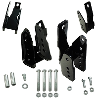 2005-2014 V6/GT/GT500 UPR Lower Control Arm Relocation Brackets
