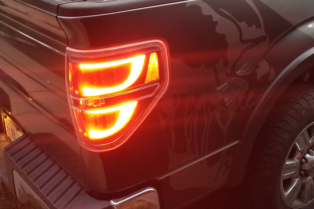 2014 F150 Headlights >> 2009-2014 F150 ANZO U-Bar Headlight and G2 LED Taillight ...
