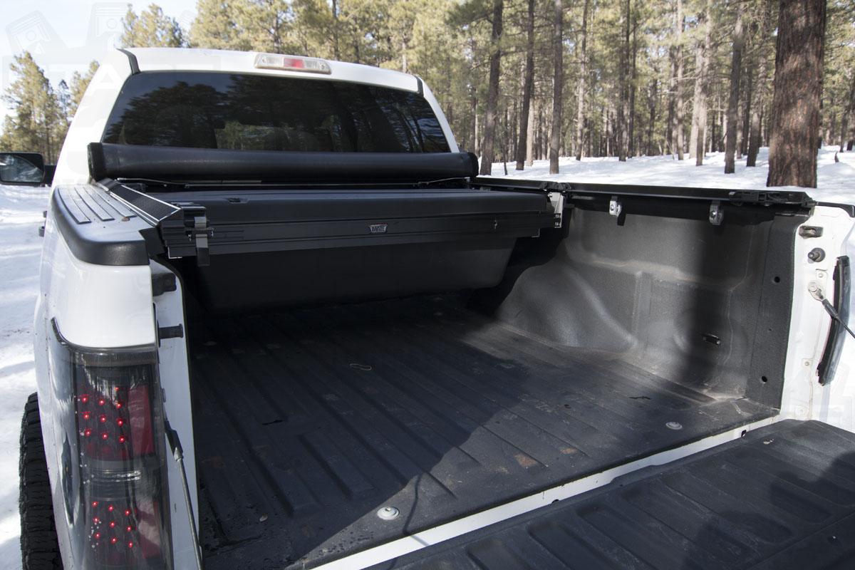 2009 2014 f150 truxedo deuce 2 tonneau cover 5 5 bed w o ford cargo system 797601