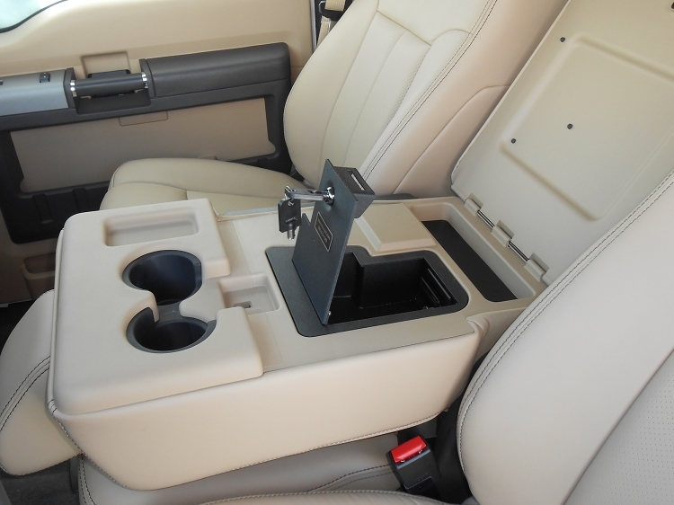 2011 2016 F250 F350 Console Vault Fold Down Armrest