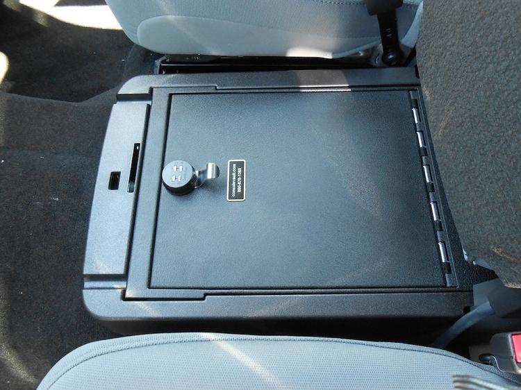 2008 2016 super duty f250 f350 du ha behind seat storage unit gun case regular crew cab 20054