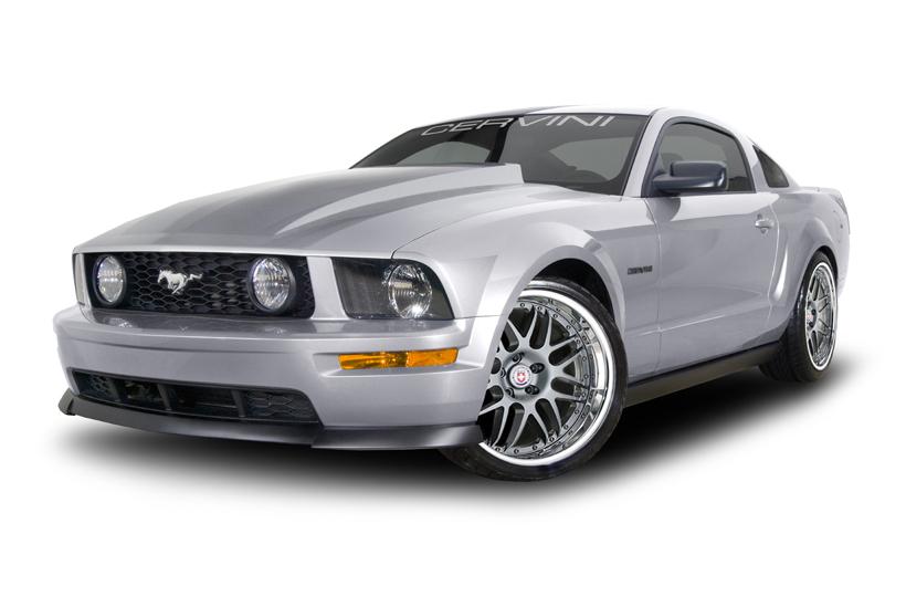 2005 2009 Mustang Cervini S Ram Air Hood Fiberglass 1171