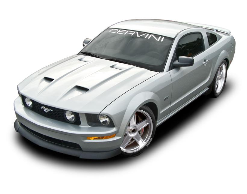 2005 2009 Mustang Cervini s Stalker Ram Air Hood