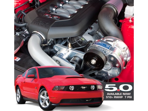 2011-2014 Mustang GT 5.0L Procharger HO Intercooled Supercharger System