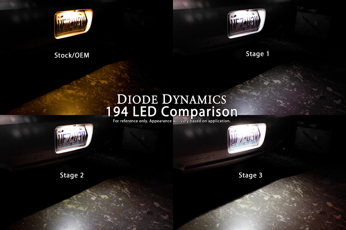 2011-2018 F150 Diode Dynamics LED License Plate Lights ...