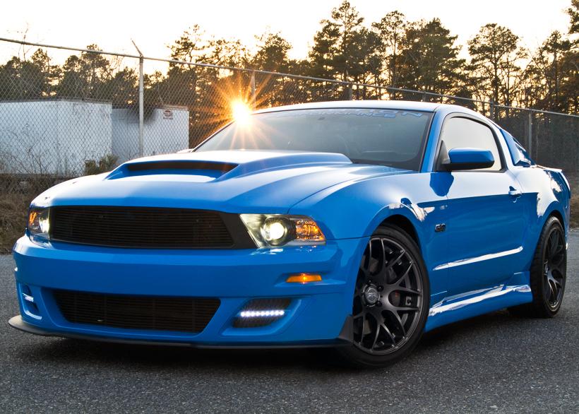 2010 2012 Mustang Cervini S Stalker Hood 1214
