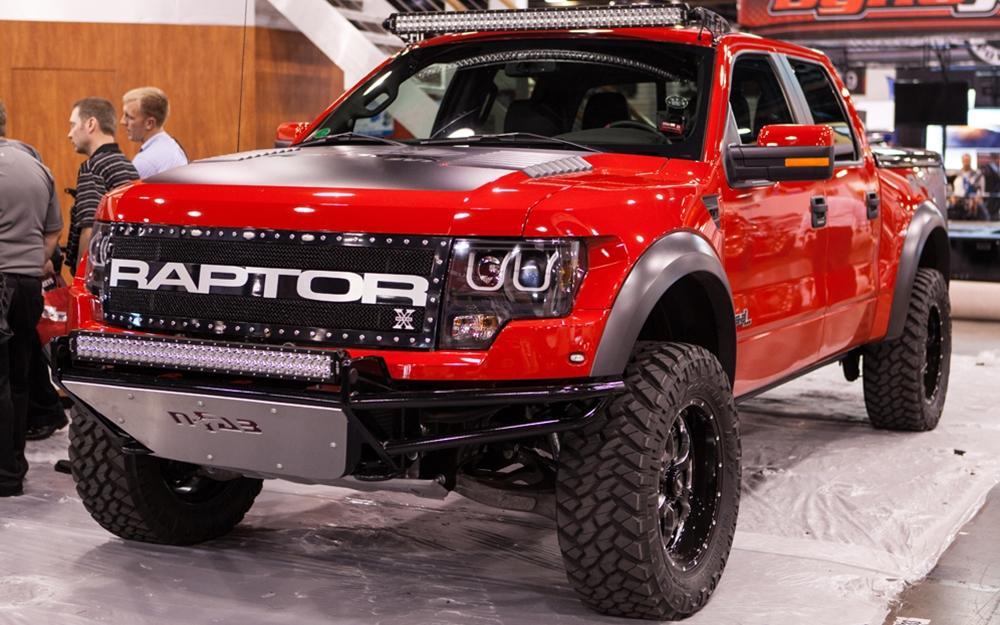 2009 2014 F150 Amp Raptor Anzo U Bar Headlights Black 111263