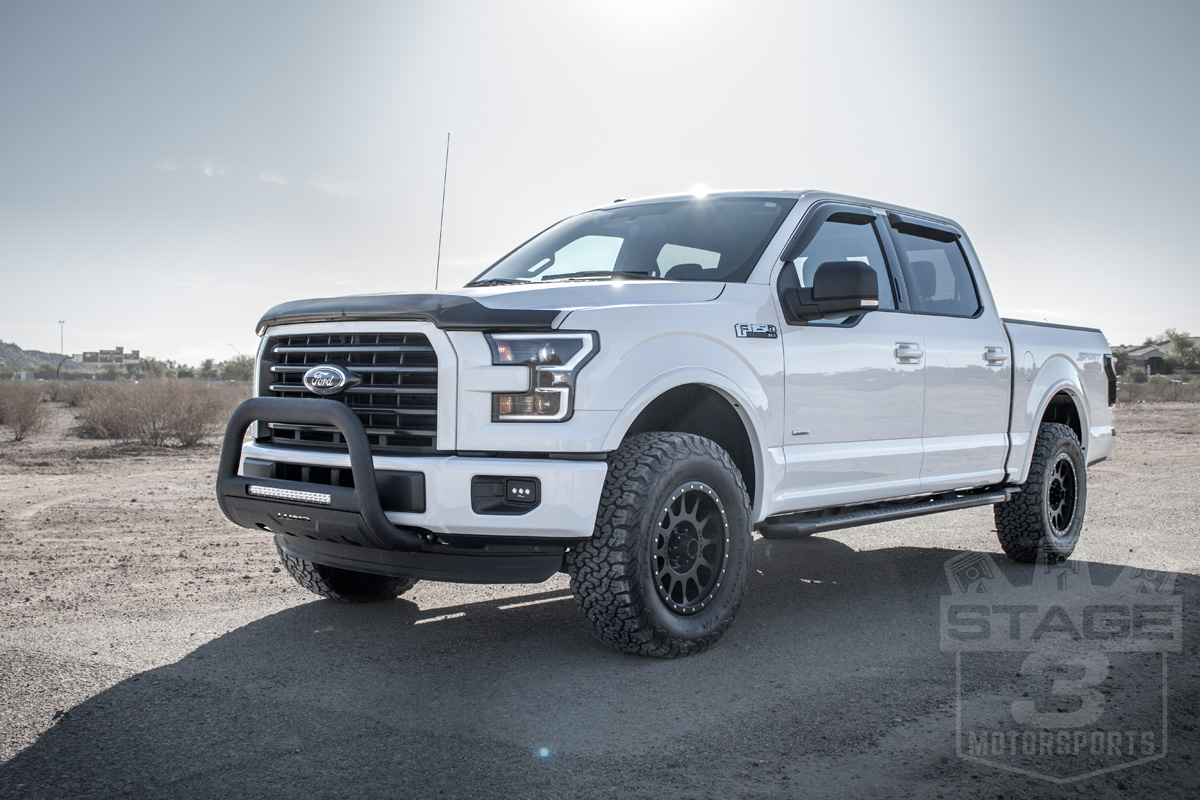 2004-2017 F150 Halo Lifts 2-inch Leveling Kit on a 2015 F150
