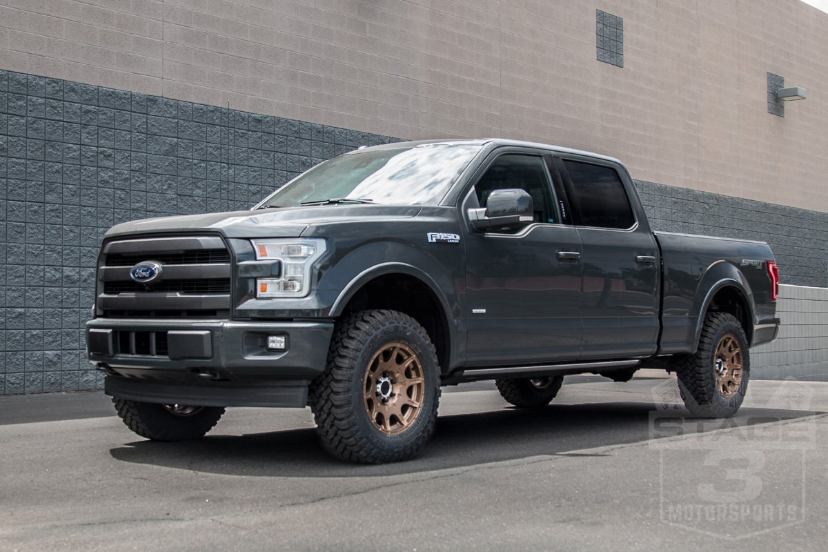 Stage 3's 2017 F150 3.5L EcoBoost Project Truck's Leveling ...