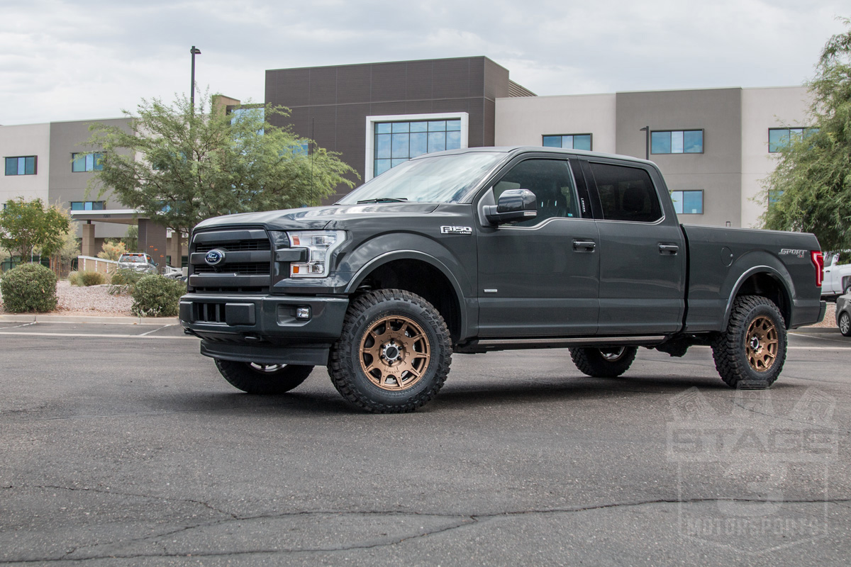 2015 2018 F150 4wd Eibach Pro Truck Front 2 Quot Leveling