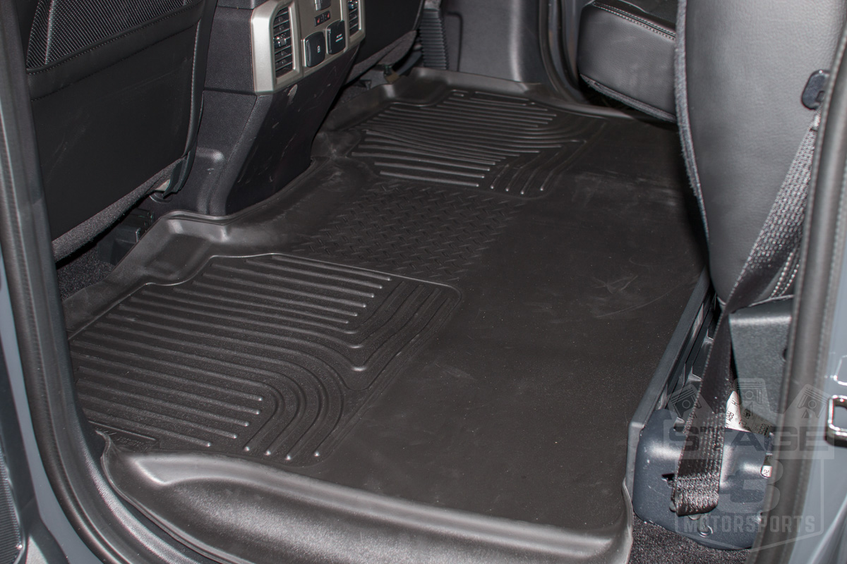 husky  act contour  seat floor mat full coverage