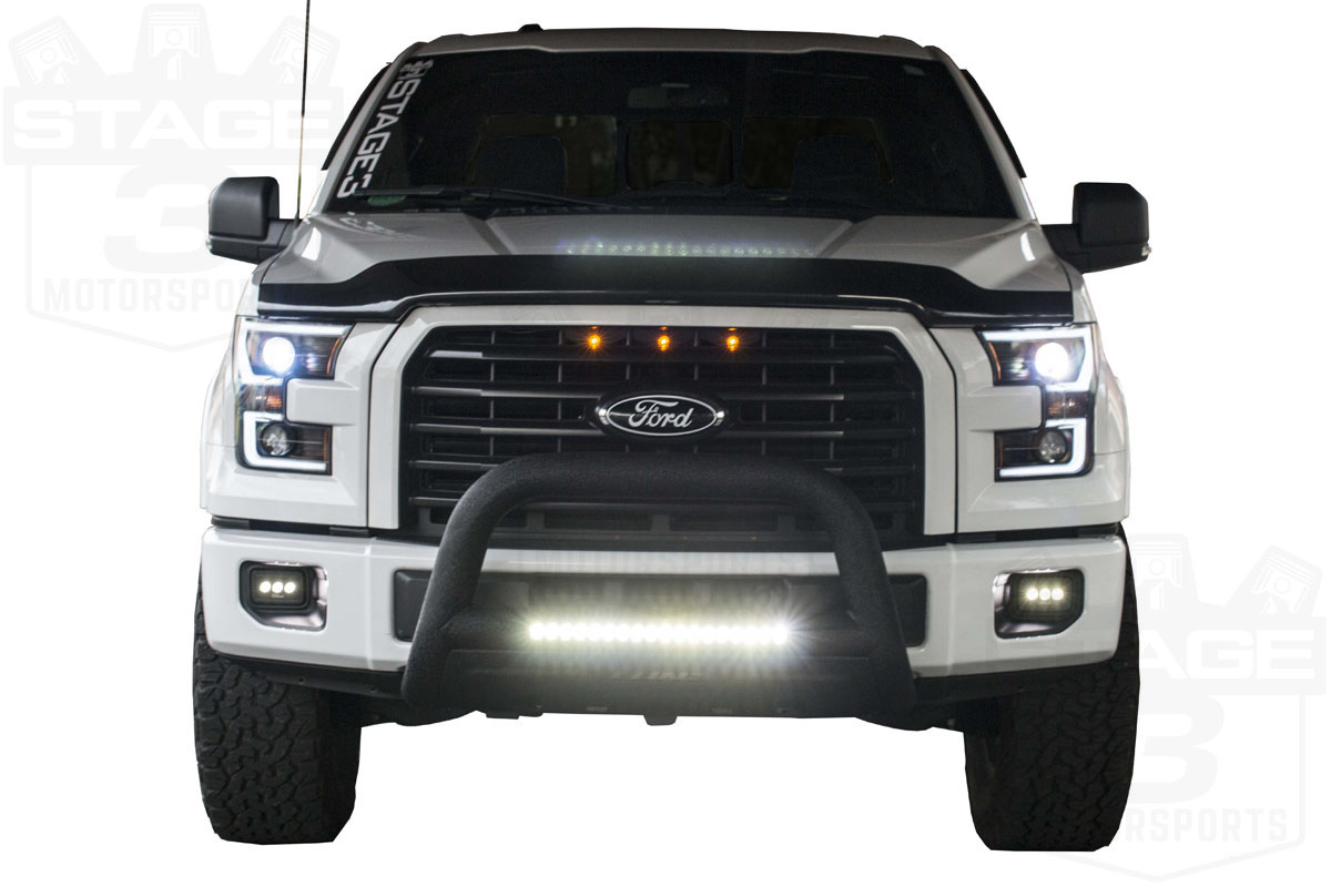 Lund Bull Bar With Led Installation