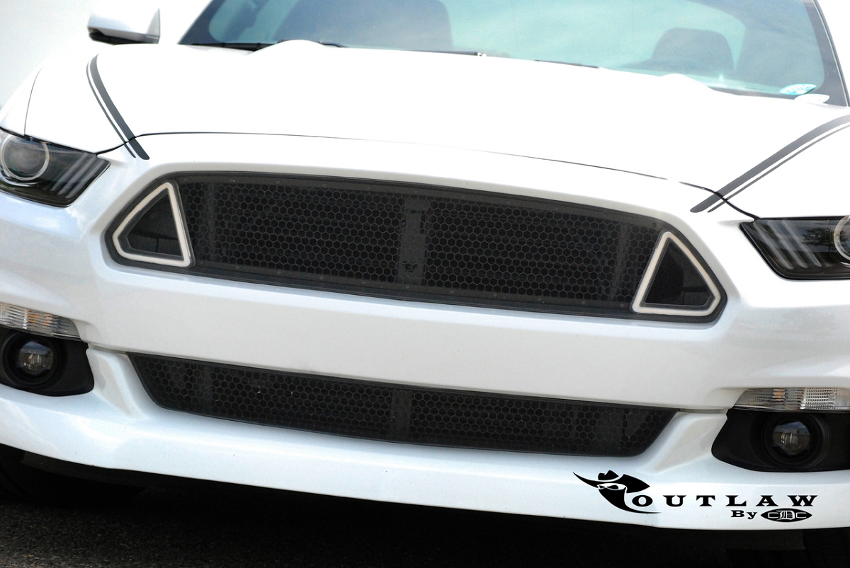 2015 2017 Mustang Cdc Outlaw Switchback Upper Grille W