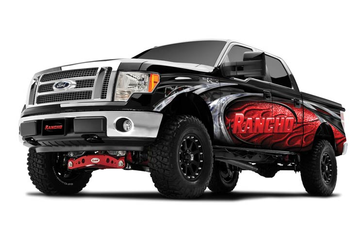 2011-2014 F150 EcoBoost Rancho 4-Inch Suspension Lift
