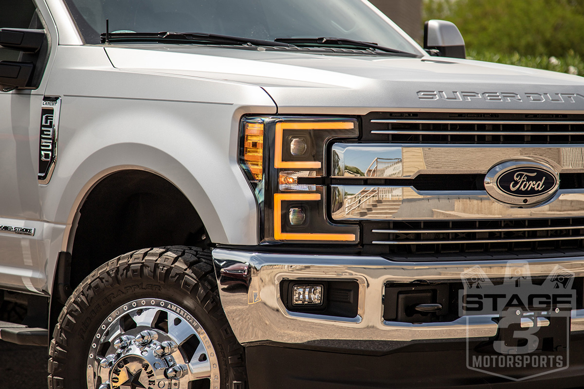 2017 2019 F250 Amp F350 Anzo Led Switchback Outline