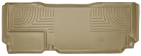 2011-2016 F250 & F350 Super Cab Husky Liners WeatherBeater Rear Floor Liner (Tan)