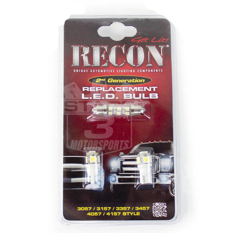 2004-2014 F150 & SVT Raptor Recon LED Dome Lights