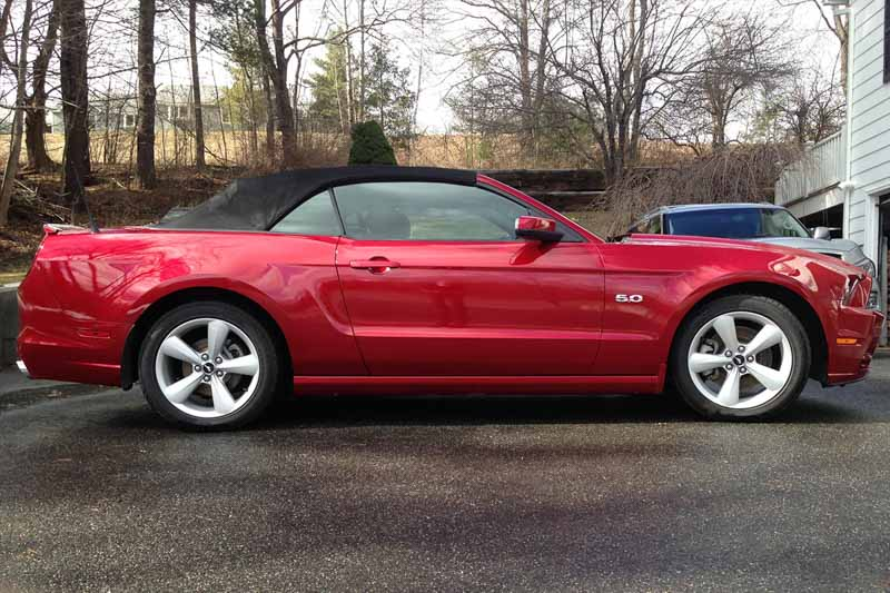 2005 2014 mustang convertible steeda sport lowering. Black Bedroom Furniture Sets. Home Design Ideas