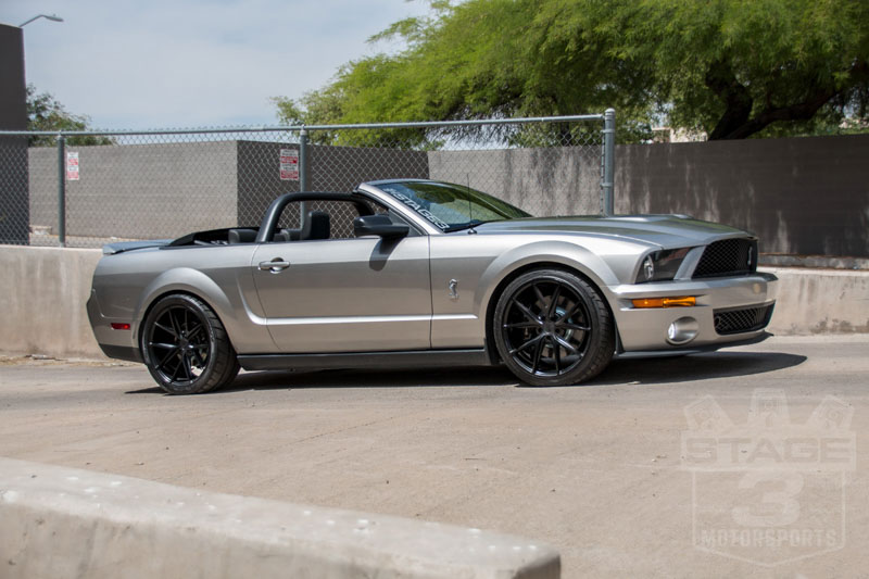 Stage 3 S 2008 Shelby Gt500 5 4l Convertible Project