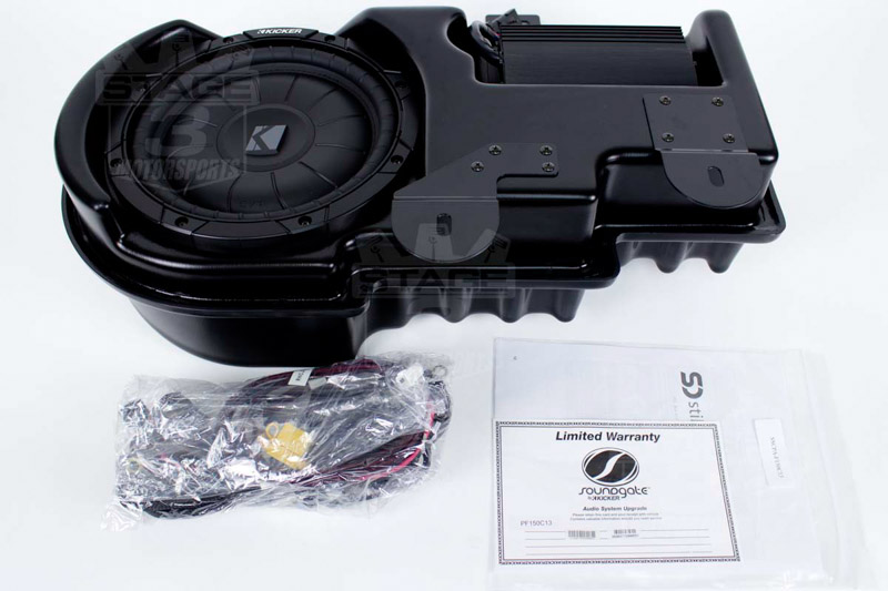 2009 2014 F150 Kicker Vss Powerstage Powered Subwoofer Kit