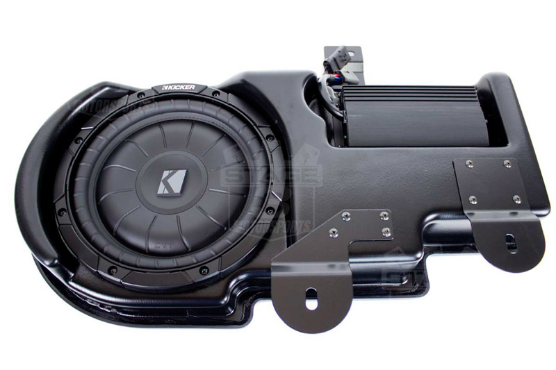 2009-2014 F150 Kicker SoundGate PowerStage Powered Subwoofer Kit (Super Crew)