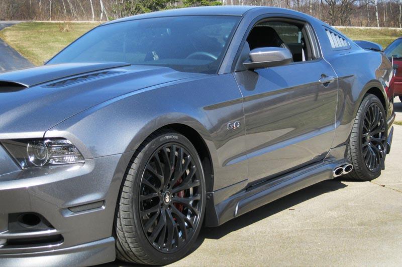2010 2014 Mustang Shr Flush Mount Quarter Window Louvers