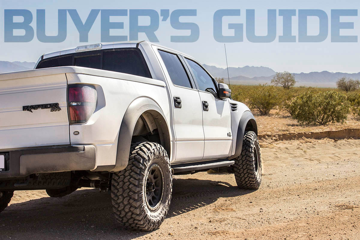 2010-2014 SVT Raptor Parts Buyer's Guide