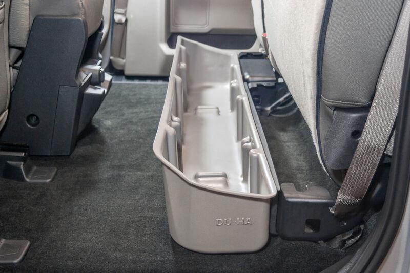 2015 2018 F150 Super Cab Du Ha Underseat Storage Unit Gun