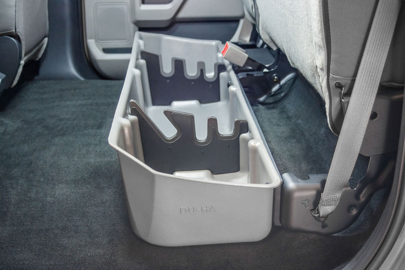 2015 2018 F150 Super Crew Du Ha Underseat Storage Unit Gun